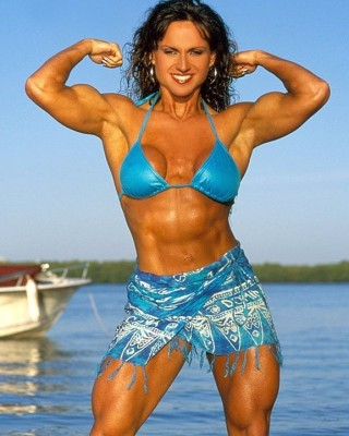 Female bodybuilders of FF